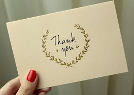 Why I Don't Believe In The 'Thank You Note' (And Why You Should Never Expect to Receive One FromMe)